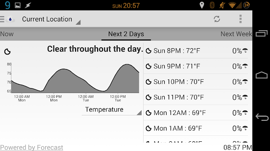 Arcus: Hyper Local Weather - screenshot thumbnail