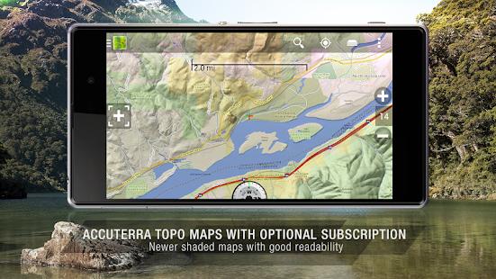 BackCountry Navigator TOPO GPS- screenshot thumbnail