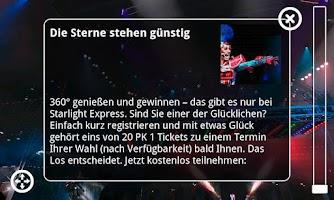 Screenshot of 360° Starlight Express Musical