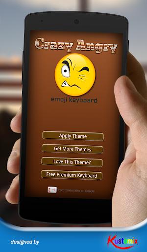 Angry Emoji Keyboard