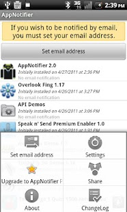 AppNotifier - Protect Yourself- screenshot thumbnail