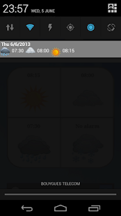 Alarm Weather (Alarm Clock) Screenshot 3