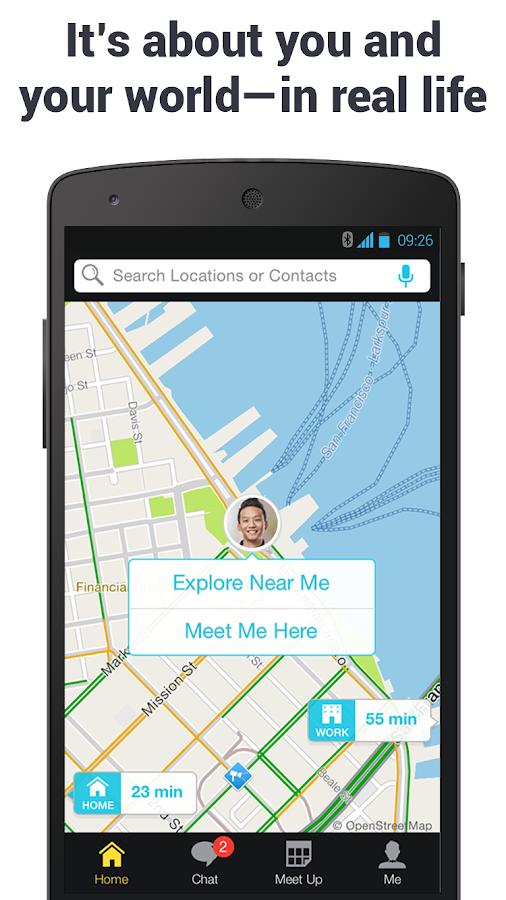 Scout GPS Maps, Meetup & Chat - screenshot