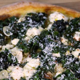Swiss Chard Ricotta Pizza