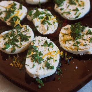 Chèvre with Herbs, Olive Oil, and Lemon Zest