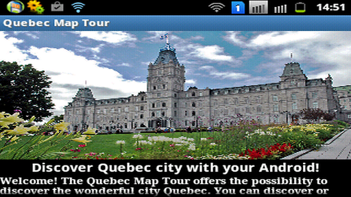 Quebec City Map Tour
