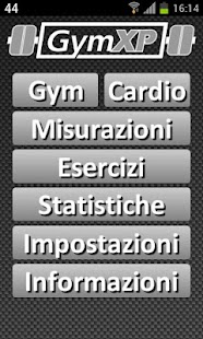 GymXP - versione italiana - screenshot thumbnail