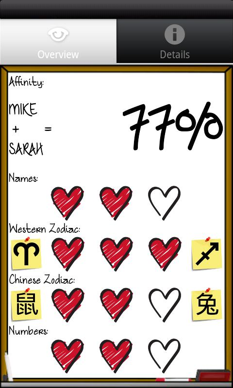 Love % - Compatibility Test- screenshot