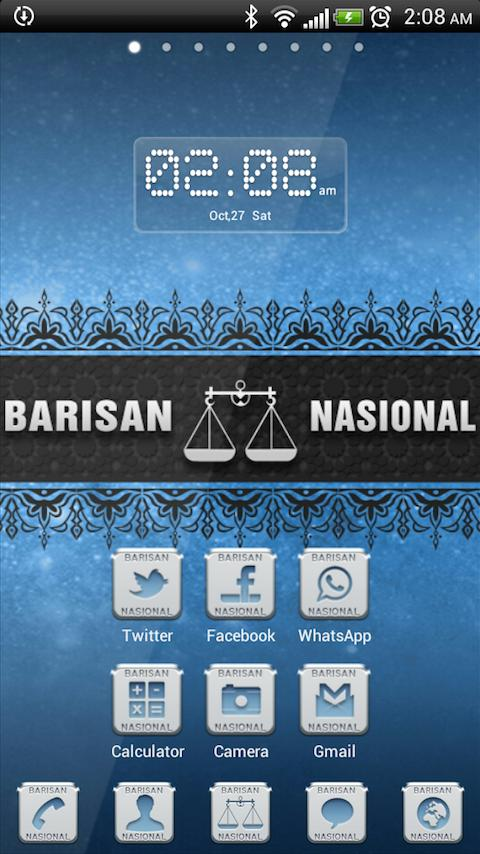 GO Barisan Nasional - screenshot