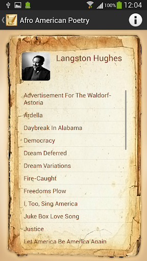 langston hughes juke box love song