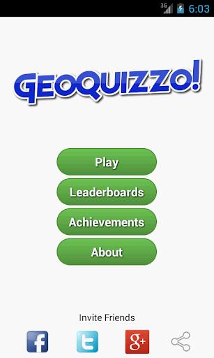 GeoQuizzo fun geography game