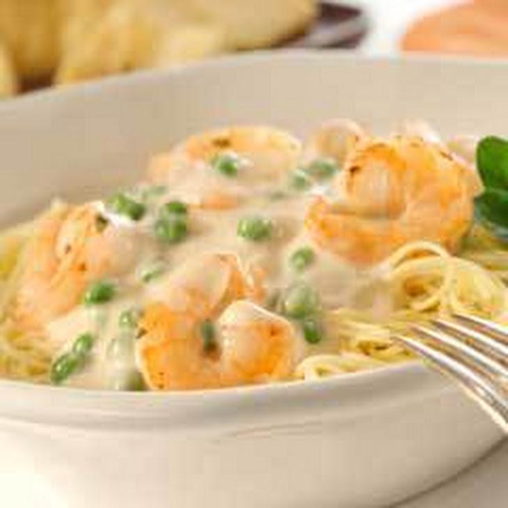 Creamy Garlic Shrimp with Angel Hair Pasta Recipe