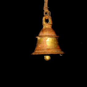 bell by Amal Vs - Artistic Objects Antiques ( bell, antique, antiques )