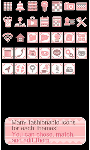 Cute Theme Geometric Winter 1.0 Windows u7528 4
