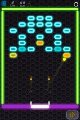 Neon Blaster- screenshot