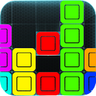 ALIGN FIVE color blocks puzzle icon