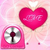 GO Locker Theme Pink Heart