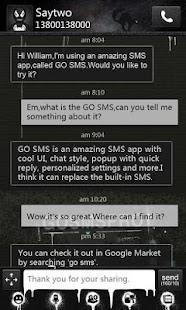GO SMS Pro Theme Thief - KP - screenshot thumbnail
