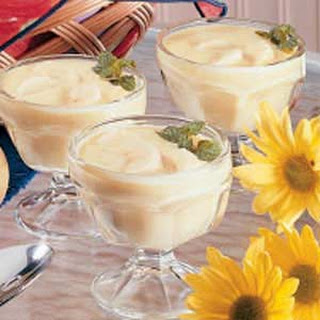 Banana Custard Pudding.