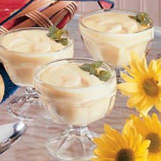 Banana Custard Pudding.
