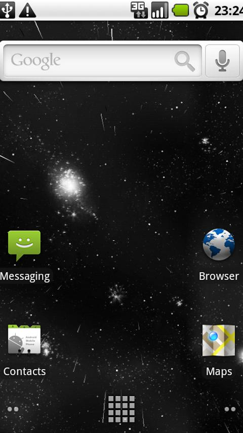 Starfield 3D Live Wallpaper - screenshot