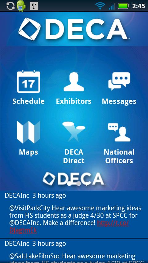 DECA - screenshot