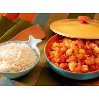Caribbean Stir-Fried Shrimp.