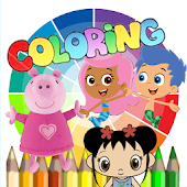 Kids Games Coloring Pages