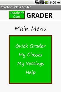 Teacher's Class GRADER PRO- screenshot thumbnail