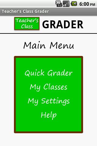 Teacher's Class GRADER PRO- screenshot