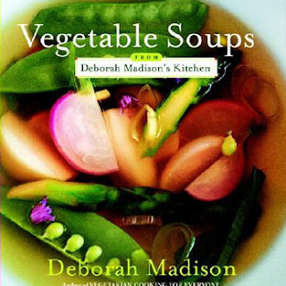 Deborah Madison's Roasted Squash, Pear, and Ginger Soup.