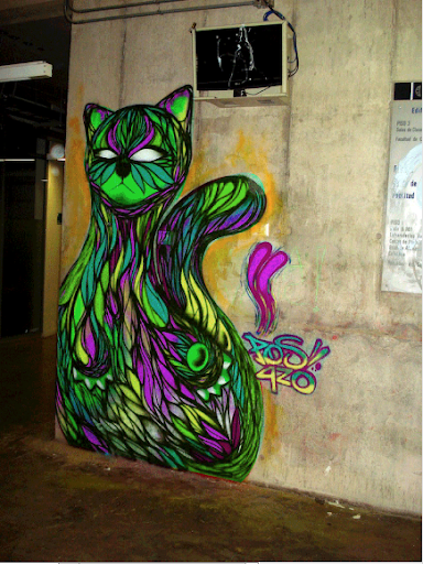 Extreme Psychedelic Kitty LWP