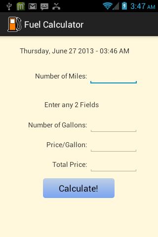 【免費工具App】Fuel Calculator-APP點子