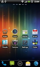 ICS GO Launcher EX Theme