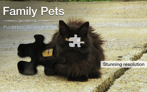 Family Pet Jigsaw Puzzles