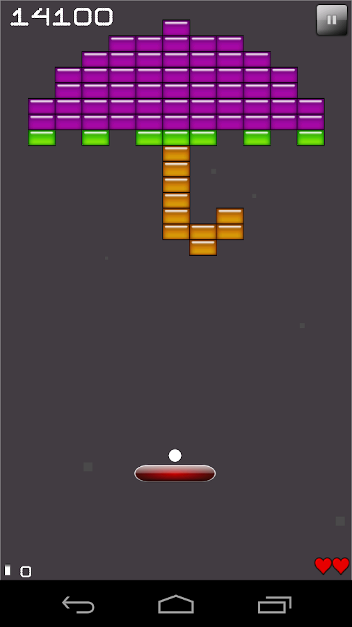 Brick Breaker- screenshot