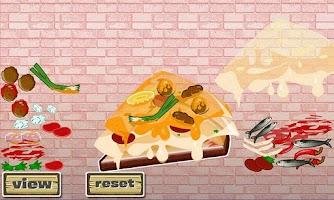 Screenshot of Cheesy Pizza Designer