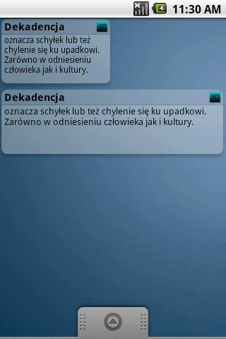 Słowo Dnia- screenshot
