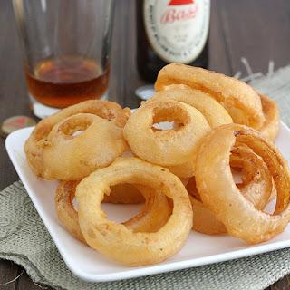 Beer-Battered Onion Rings.
