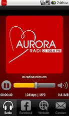 Radio Aurora 100.6 FM Android Music & Audio