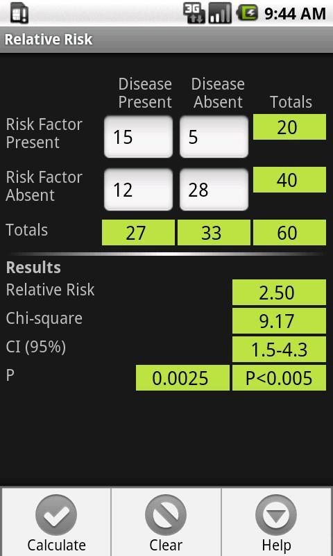 BS3 Statistics Pack- screenshot