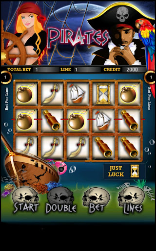 Pirate Slot Machine HD Screen Capture 1