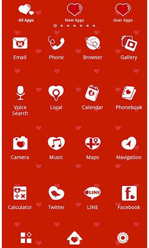 Cute Wallpaper Polka Hearts 1.0.0 Windows u7528 2