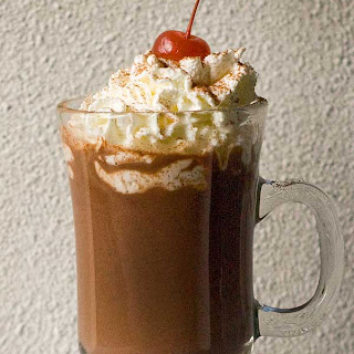 Gluten Free Black Forest Hot Chocolate