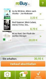reBuy.de Scanner - screenshot thumbnail