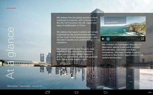 HSBC Investment Outlook - screenshot thumbnail