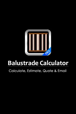 Balustrade Calculator PRO