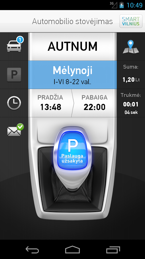 m.Parking- screenshot