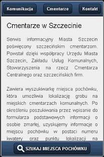 Szczecińskie Cmentarze- screenshot thumbnail
