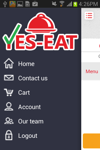 Yes Eat- screenshot